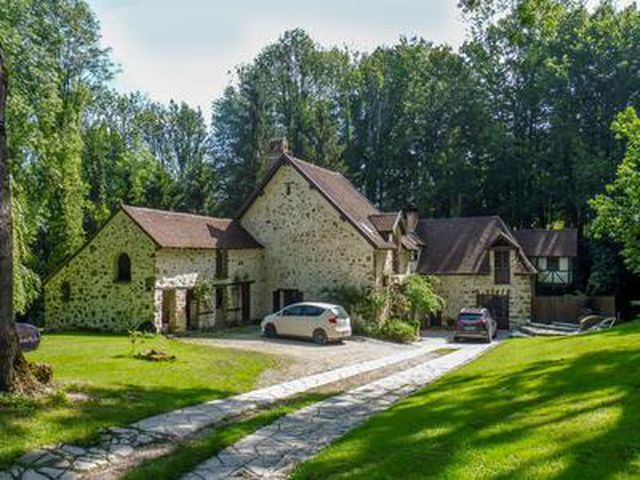 Small Paradise In Champagne With Old Mill For Sale On 0 9 Ha Near