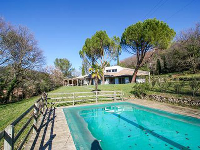 Exclusivity Near Montelimar Magnificent Architect House With Pool For Sale Drome Moulin