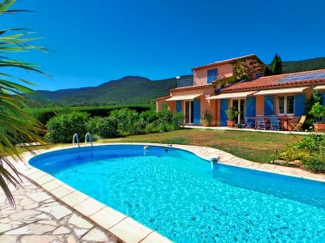 Energy Efficient Provencal House With Swimming Pool Set In